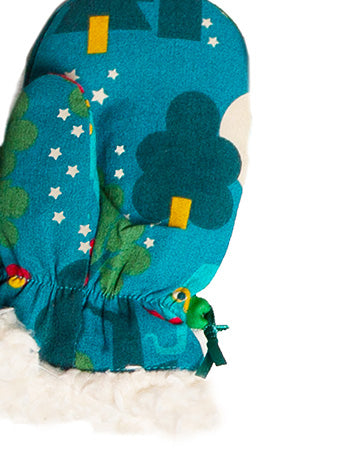 Midnight Jungle Mitts - Polly & Pickles Baby Boutique