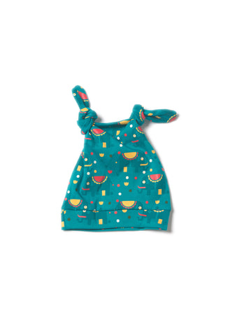 Jungle Elephant Knotted Hat - Polly & Pickles Baby Boutique
