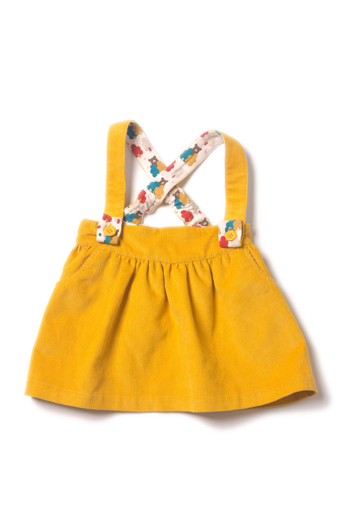 Gold Cord Bubble Skirt - Polly & Pickles Baby Boutique