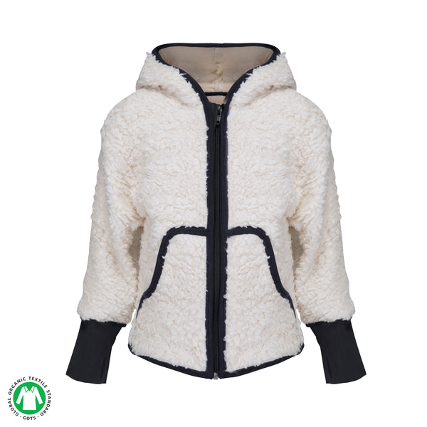 Sherpa 'Lamb' Sweater with Hood - Polly & Pickles Baby Boutique