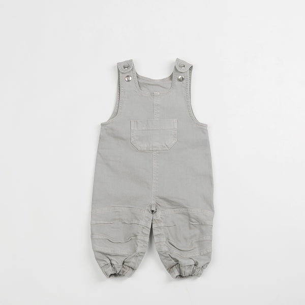 Gray Denim Overalls - Polly & Pickles Baby Boutique