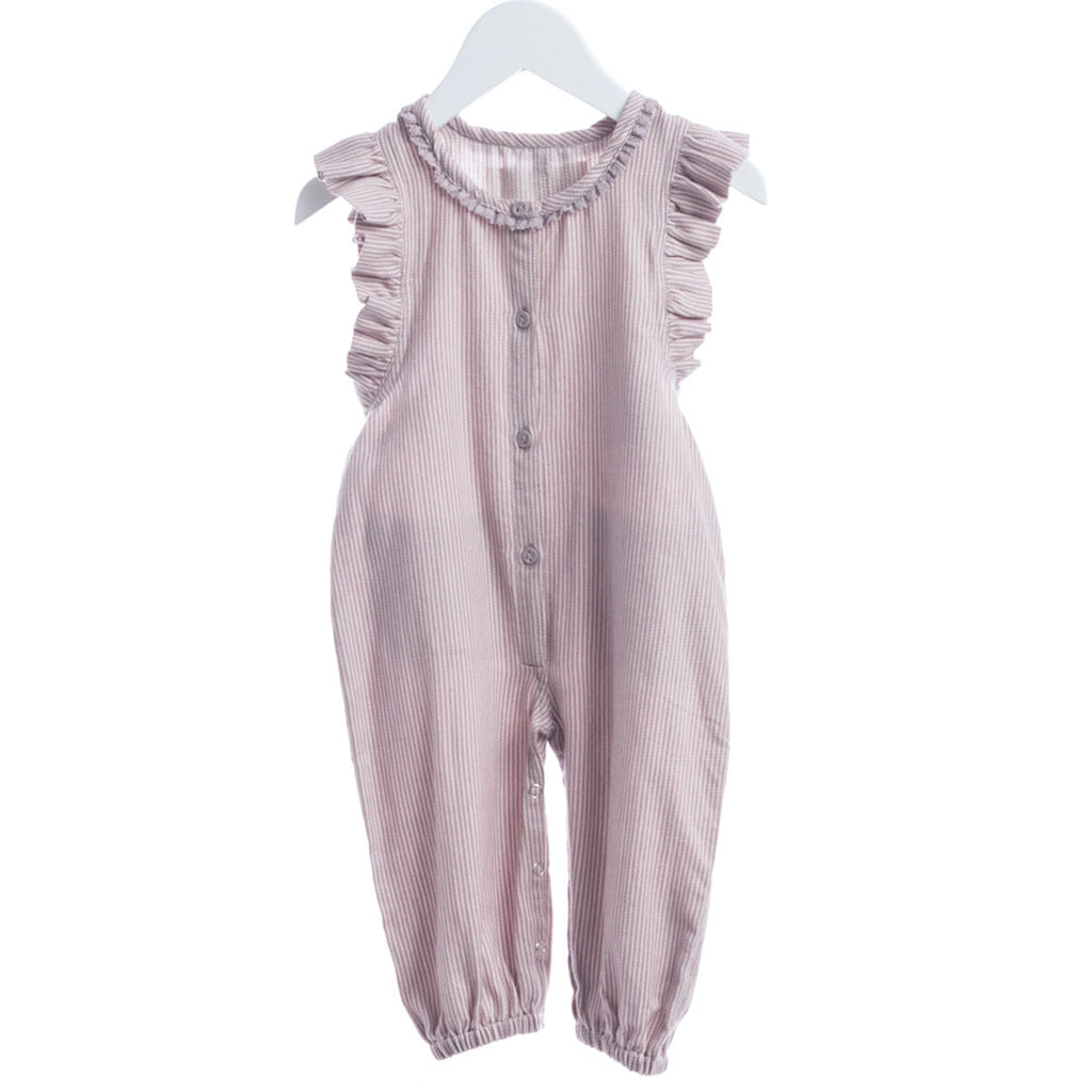2b7dfff6375 Rose White Overalls – Polly   Pickles Baby Boutique