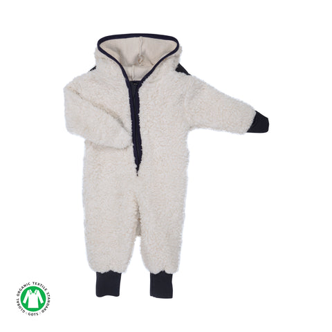 Organic Sherpa 'Lamb' Onsie - Polly & Pickles Baby Boutique