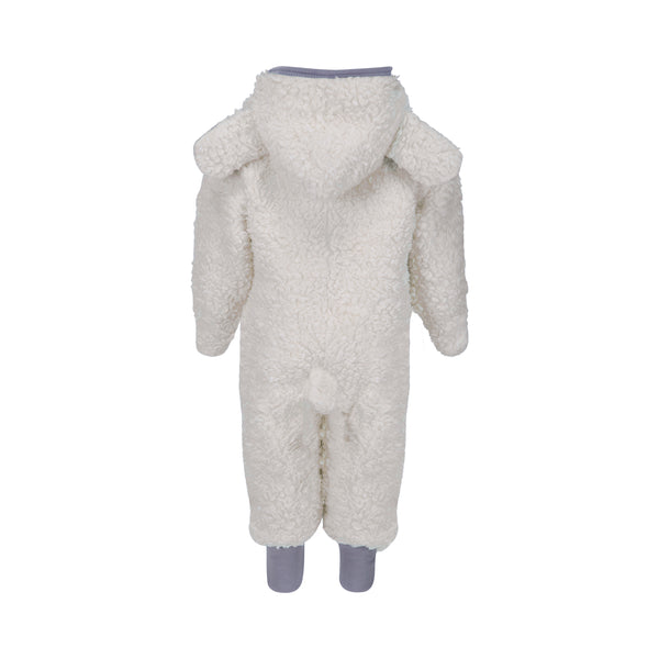 Sherpa 'Lamb' Suit with Hood - Polly & Pickles Baby Boutique