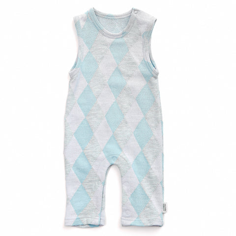 Jaquard Romper Suit - Polly & Pickles Baby Boutique