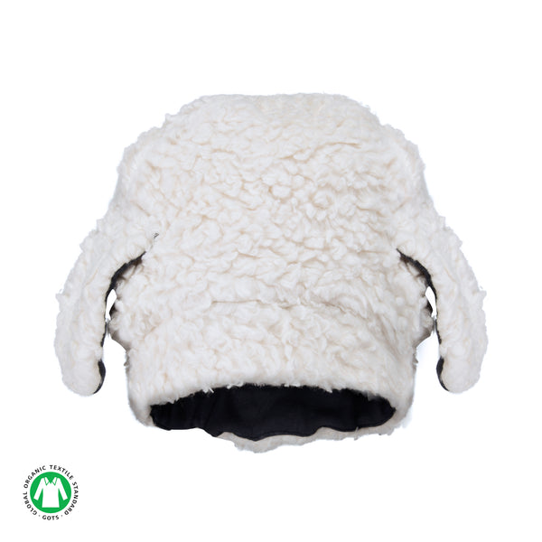Furry Lamb Hat - Polly & Pickles Baby Boutique