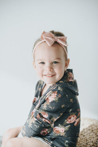 Floral Pocket Hoodie - Polly & Pickles Baby Boutique