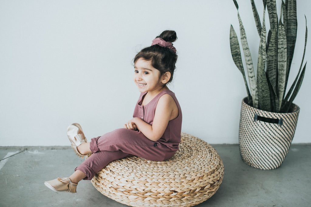 Rosewood Tank Romper - Polly & Pickles Baby Boutique