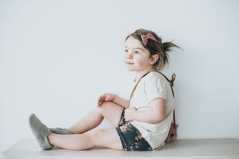 Cream Slouchy Tee - Polly & Pickles Baby Boutique