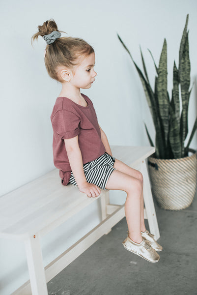 Rosewood Slouchy Tee - Polly & Pickles Baby Boutique