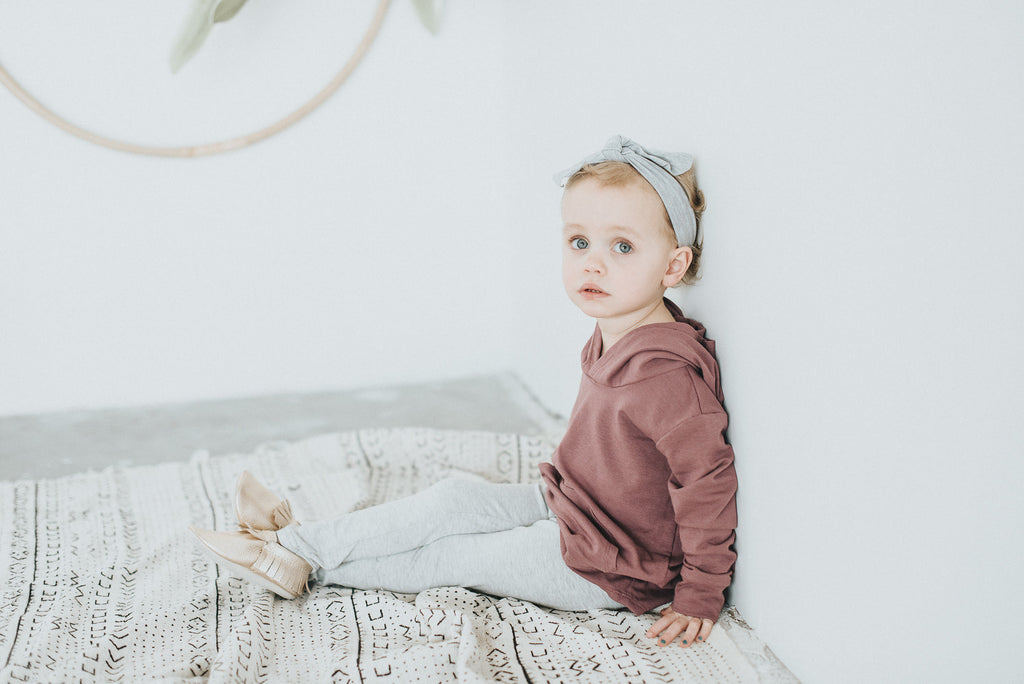 Rosewood Pocket Hoodie - Polly & Pickles Baby Boutique