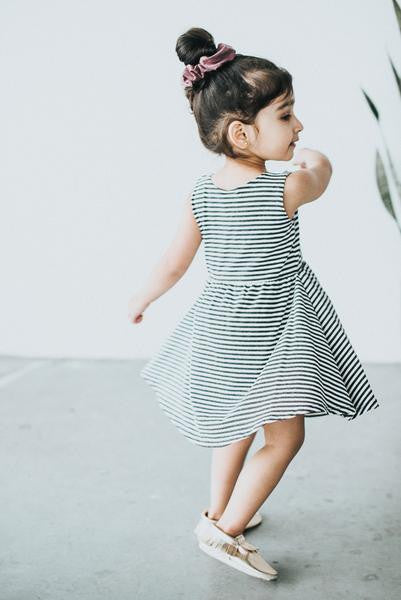 Stripe Tank Spin Dress - Polly & Pickles Baby Boutique