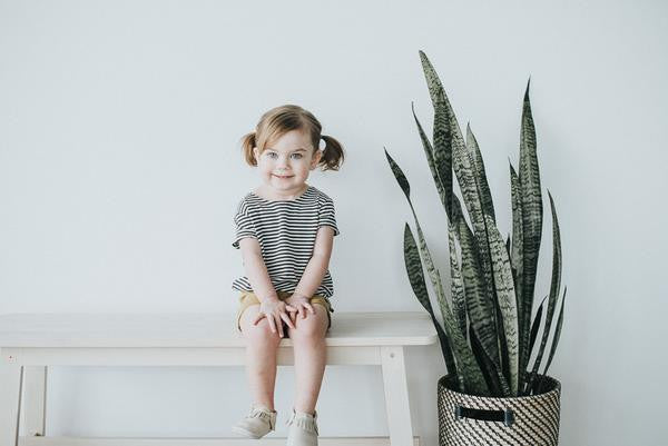 Stripe Slouchy Tee - Polly & Pickles Baby Boutique