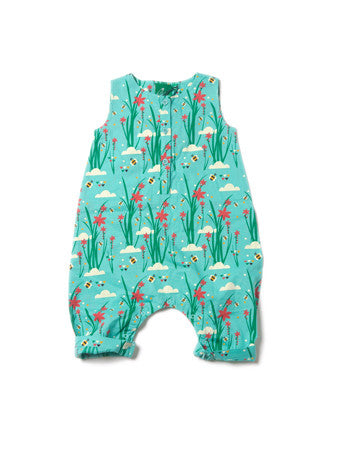 Cornish Copper Playsuit - Polly & Pickles Baby Boutique
