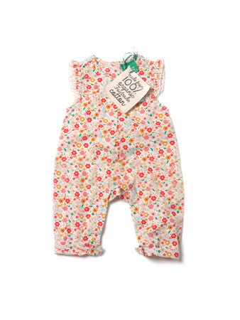 Secret Seahorses Frill Romper - Polly & Pickles Baby Boutique