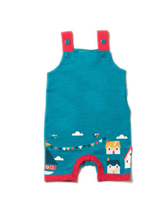 Sail Away Overalls - Polly & Pickles Baby Boutique