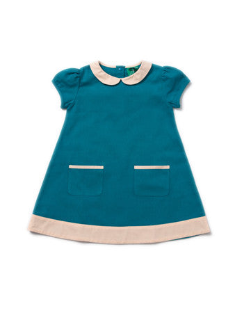 Beach Ball Blue Tunic Dress - Polly & Pickles Baby Boutique