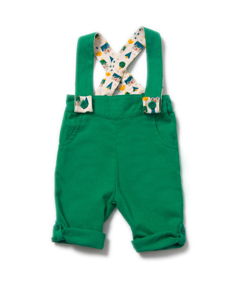Fern Green Bubble Bottoms - Polly & Pickles Baby Boutique