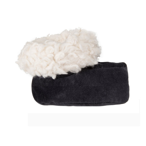 Black Velvet Slippers - Polly & Pickles Baby Boutique