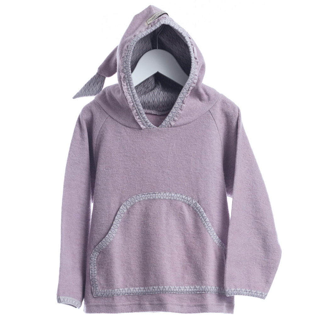 Purple Pullover Hoodie - Polly & Pickles Baby Boutique