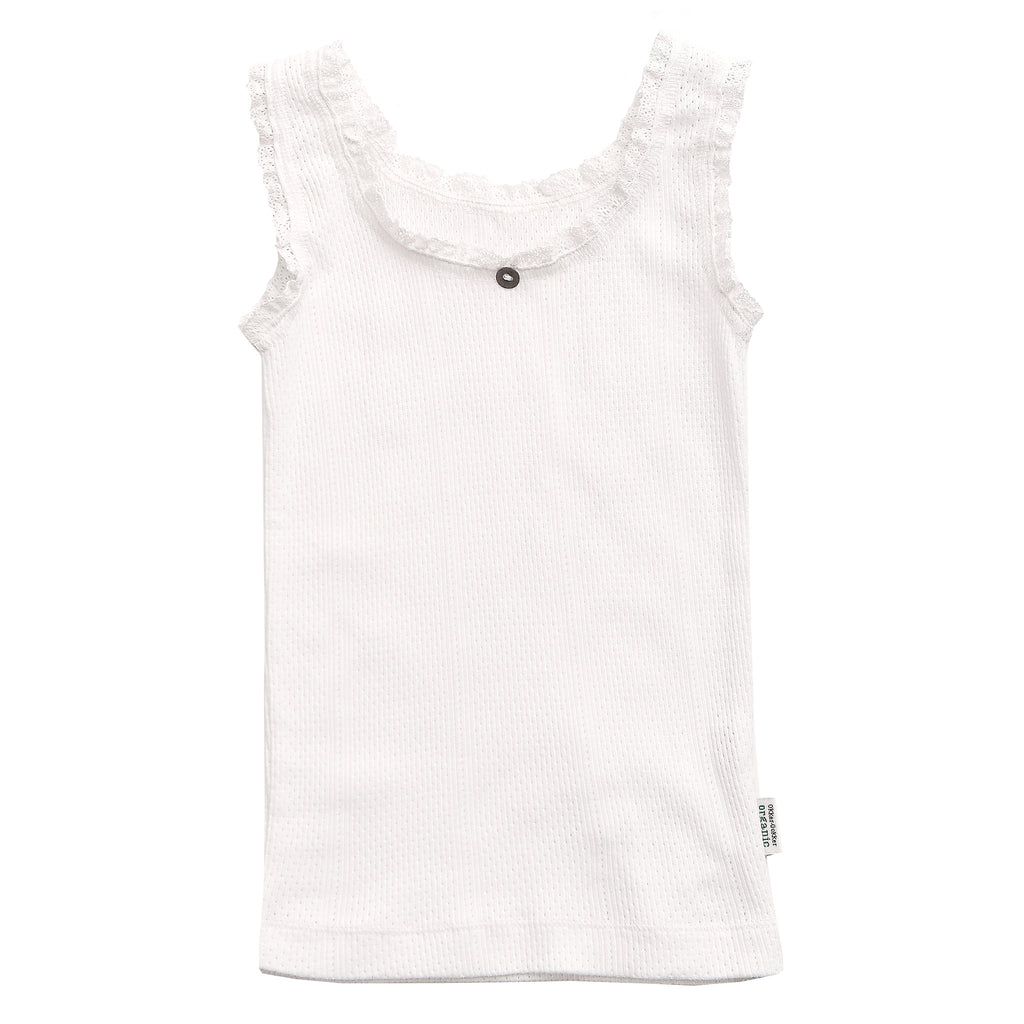Off-White Tank - Polly & Pickles Baby Boutique