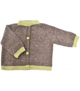Baby Cardigan - Alpaca Wool - Polly & Pickles Baby Boutique