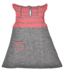 Alpaca Wool Woven Dress - Polly & Pickles Baby Boutique
