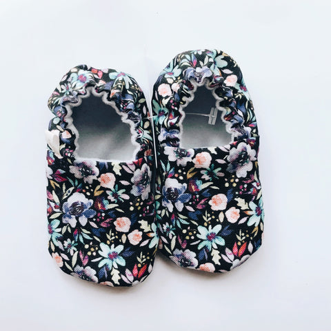 Wildflower Baby Shoes - Polly & Pickles Baby Boutique