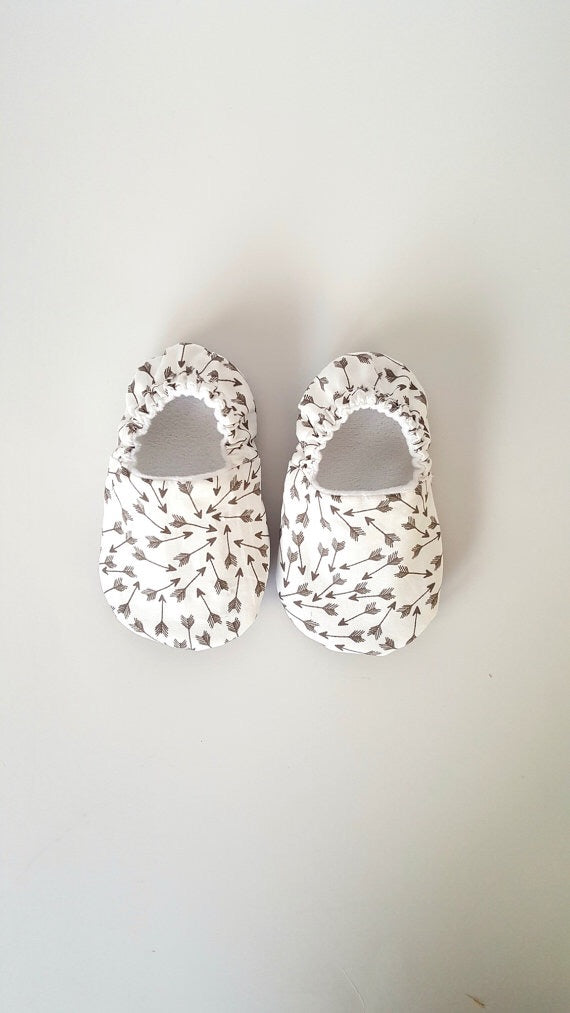 Arrow Baby Shoes - Polly & Pickles Baby Boutique