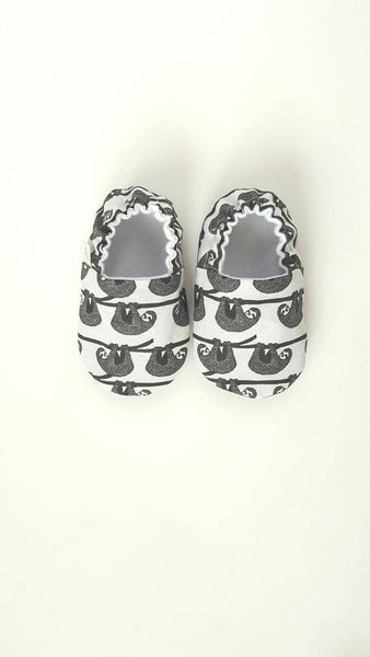 Sloth Baby Shoes - Polly & Pickles Baby Boutique