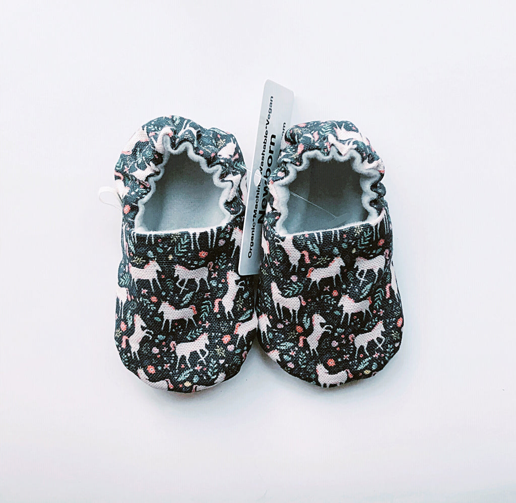 Unicorn Baby Shoes - Polly & Pickles Baby Boutique