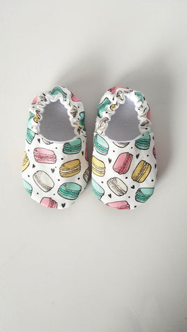 Macaroon Baby Shoes - Polly & Pickles Baby Boutique