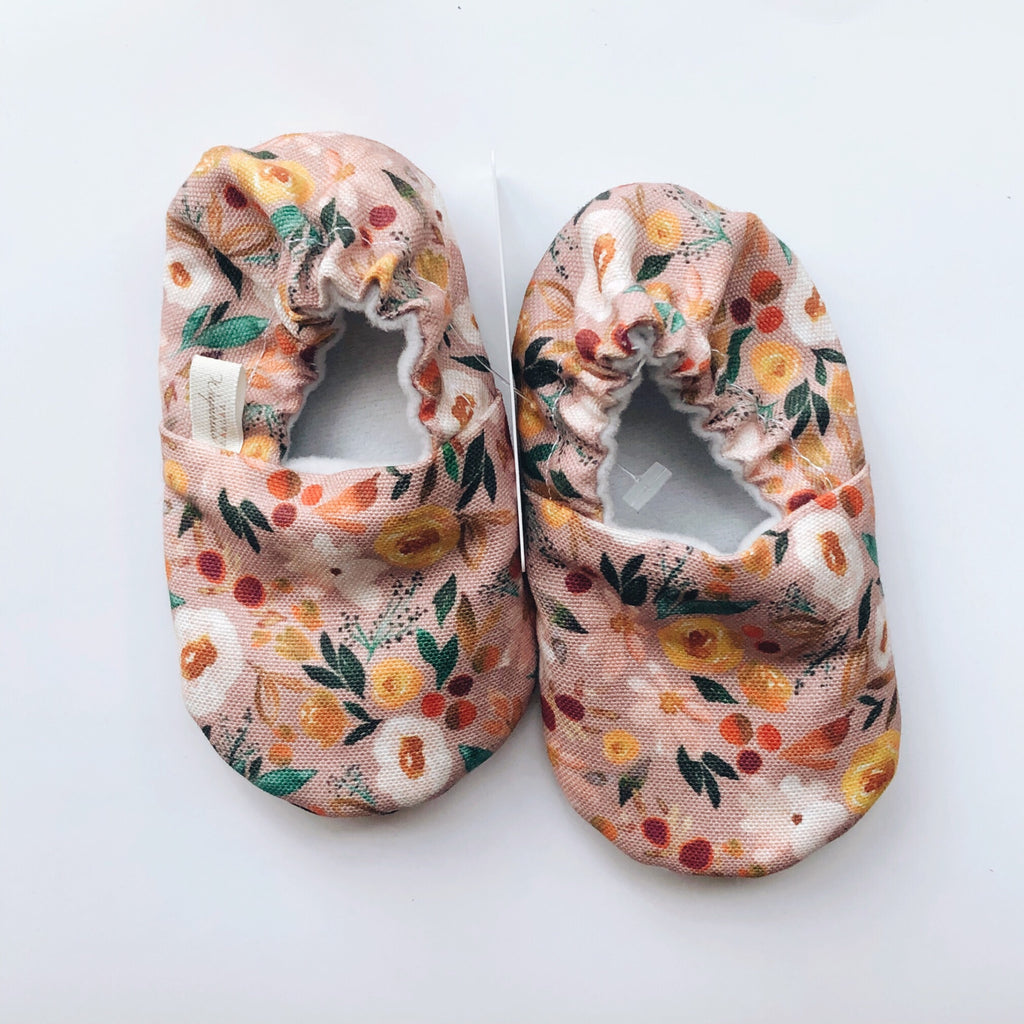 Floral Baby Shoes - Polly & Pickles Baby Boutique