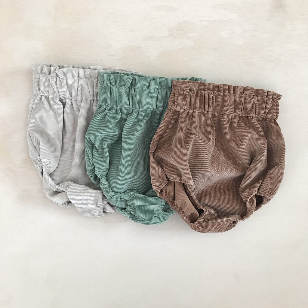 Bloomers - cords - Polly & Pickles Baby Boutique