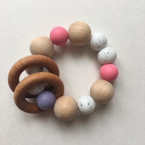 Ring Teether - Polly & Pickles Baby Boutique