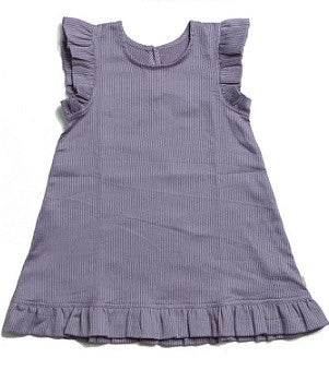 Purple Striped Dress - Polly & Pickles Baby Boutique