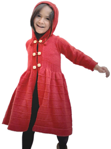 Red Princess Coat - Polly & Pickles Baby Boutique