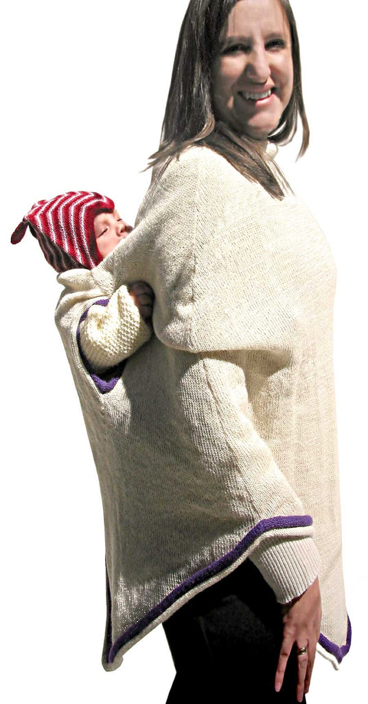 Wallaby Poncho-Alpaca Wool - Polly & Pickles Baby Boutique