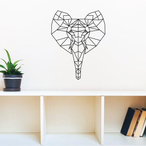 Elephant StickIt Geometric