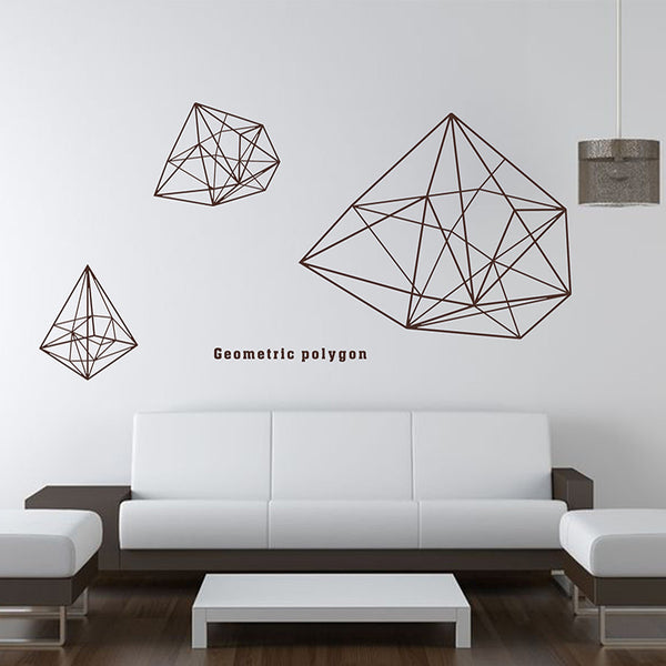 Polygon StickIt Geometric
