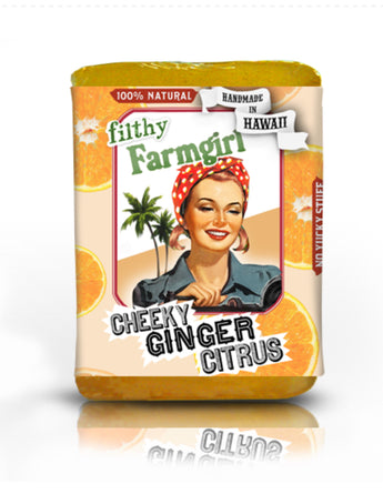 Filthy Farm Girl Soap 'Cheeky Ginger Citrus' - Farm Hard or Die