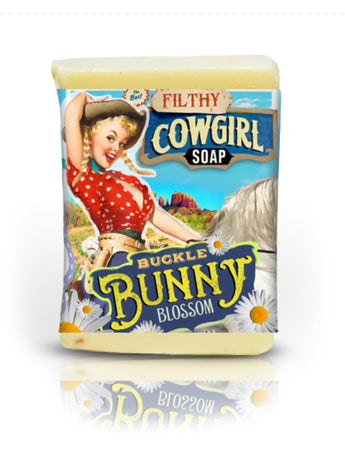 Filthy Farm Girl Soap Buckle Bunny Blossom - Farm Hard or Die