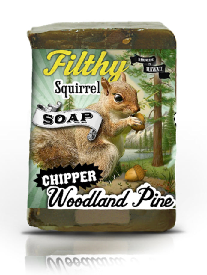 "Filthy Farm Girl Soap ""Squirrel "" - Farm Hard or Die"