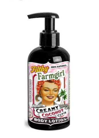 "Filthy Farm Girl Lotion ""Creamy Coconut Cutie"" - Farm Hard or Die"