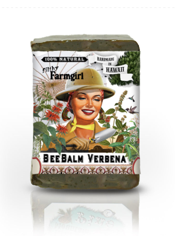 Filthy Farm Girl Soap ' BeeBalm Verbena' - Farm Hard or Die