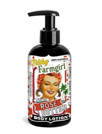 "Filthy Farm Girl Lotion ""Rose Butter"" - Farm Hard or Die"