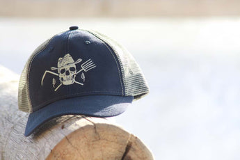 Original Farm Hard or Die Baseball Hat - Farm Hard or Die