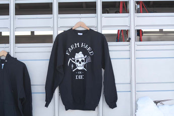 Original Farm Hard or Die Crew Sweatshirt - Farm Hard or Die