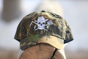 Mossy Oak® Camo Farm Hard or Die Baseball Hat - Farm Hard or Die