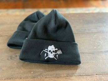 Knit Beanie Hat - Farm Hard or Die